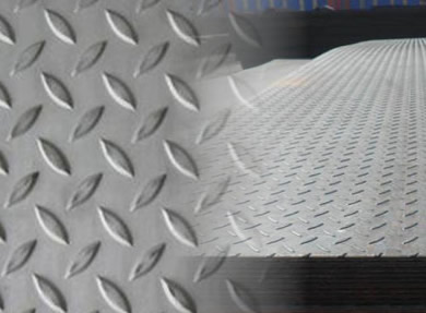 Hot Dipped Galvanized Mild Steel Checkered Diamond Plate