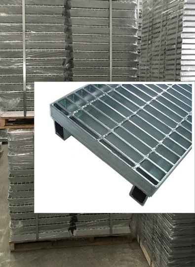 Hot Dipped Galvanized Steel Grating Planks for Decking Floor