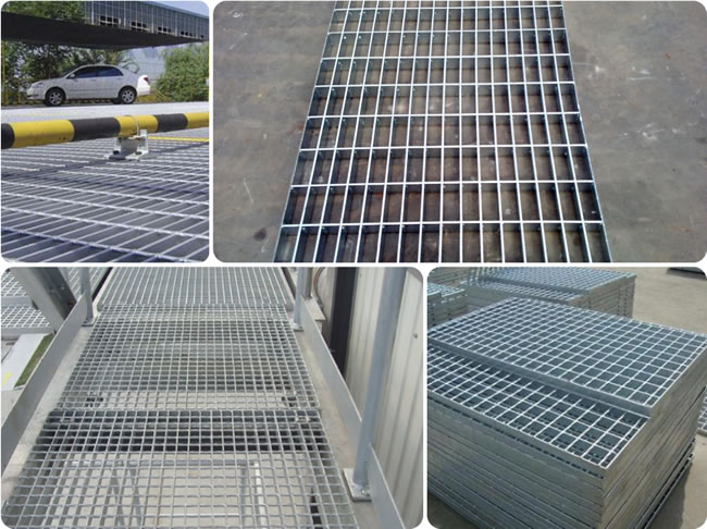 Non Galvanized And Hot Dipped Galvanized Steel Bar Grating