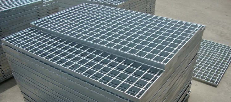 Bar Grating Structural Metal Steel Stair Treads Decking