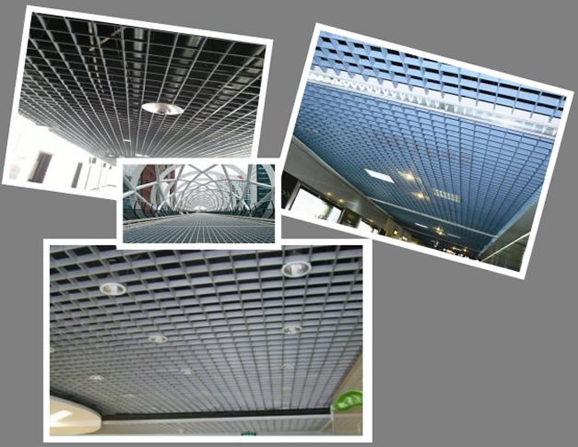 Pressure Locked Bar Grating For Architectural Ceiling
