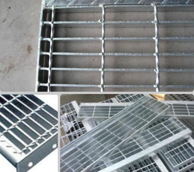 Metal Steel Bar Grating Stair Treads